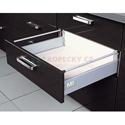 MODERN BOX plno+soft+1-reling 300/160mm 40kg šedý