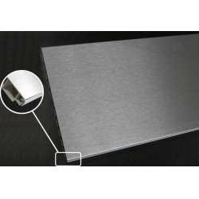lišta 311 soklová 4000/150mm plastová Inox