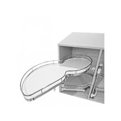 Ledvinka rohová soft ML 1000/500mm 2-p Cr/bílá L