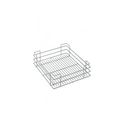 Koš pro box SIGE 251 500/500mm drát.dno chrom