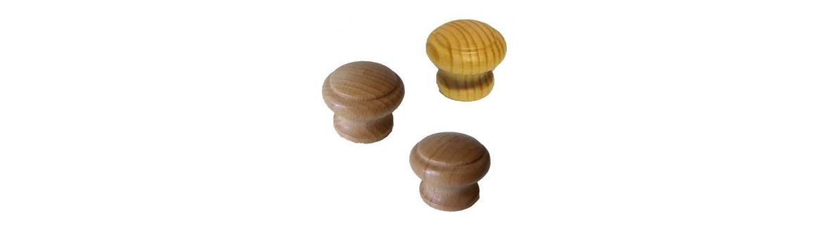 Knopky dřevěné