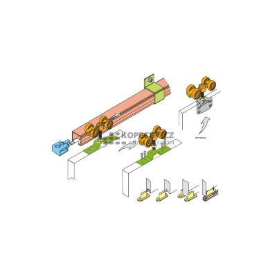 Kování STANDARD100 posuv.interier.dv.100kg-1křídlo