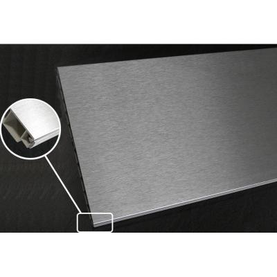 lišta 310 soklová 4000/100mm plastová Inox