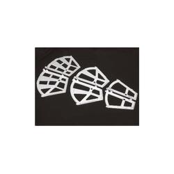botník vyklápěcí 2-příčkový bílý