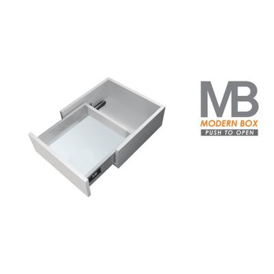MODERN BOX plno push 450/96mm 40kg šedý