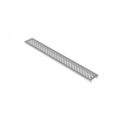 mřížka větrací hliníková 292x60mm Al (bal 10ks)