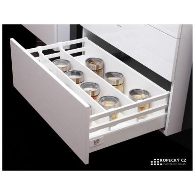 MODERN BOX SQUARE plno+dotah+tlumení 450/225mm 40kg šedý (10sad)