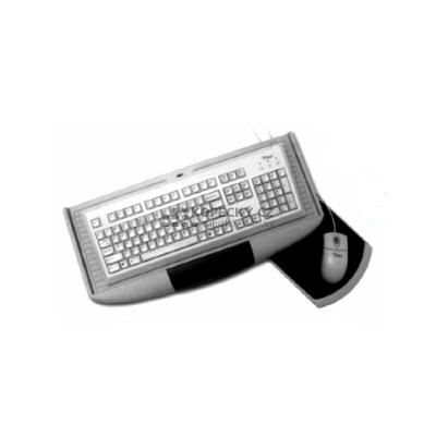 výsuv na klávesnici s myší šedá