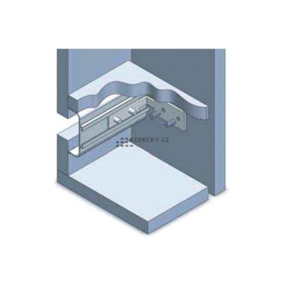 profil - U - pro bezúchytkové dveře 2750 mm