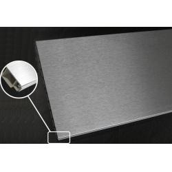 spojka flexibilní k liště soklové 150mm plastová Inox