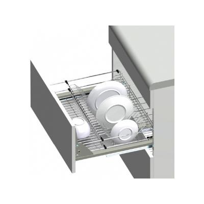 Zásuvka VARIANT MULTI na talíře plno soft 800/460/235mm Al dno Cr